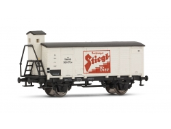 Arnold Gedeckter Güterwagen G10 Stiegl der ÖBB, Ep. III